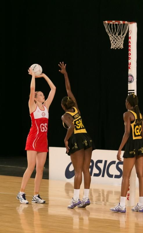 Jamaica's netball team on the rope!