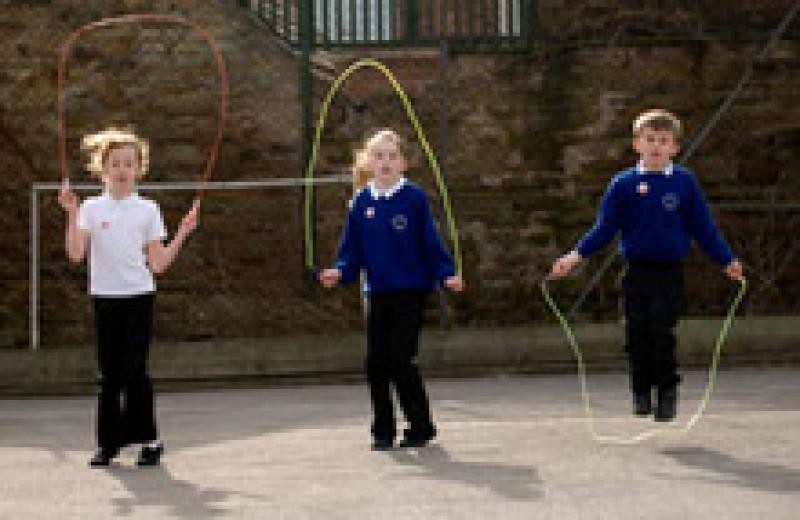 Skipping helps children discover more about movement and physical literacy and improve coordination