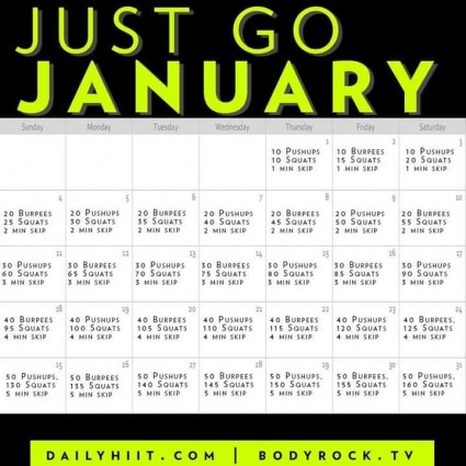 Just Go January