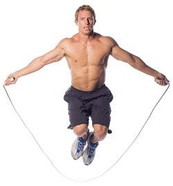 How does skipping deliver a full body workout?
